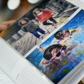200 LÜK 13X18 ÇERÇEVELİ NOTLU WEDDING FOTOĞRAF ALBÜMÜ-5