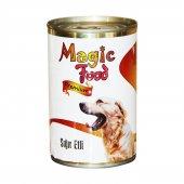 Magic Food Premium Siğir Etli Sebzeli Köpek Konservesi 415 Gr