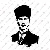 Ulu Önder Atatürk Portre Dekoratif Lazer Kesim...