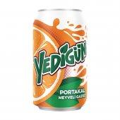 Yedigün Gazlı İçecek Portakal 330 Ml X 6