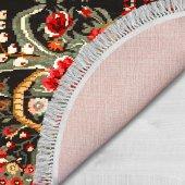 Decoling İpek 1785 Dekoratif Oval Halı-6