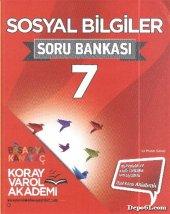Koray Varol 7.sınıf Sosyal Bilgiler Soru Bankası (Kampanyalı)