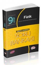 Editör 9.sınıf Fizik Soru Bankası Özetli Lezzetli (2020)