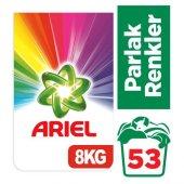Ariel Toz Çamaşır Deterjanı Parlak Renkler 8 Kg...