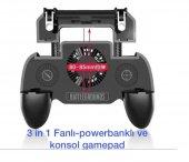 Pubg Mobil Fanlı Soğutma Şarjlı Powerbank Gamepad Tetik-2