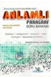 Yayın Denizi Yayınları Anlamlı Paragraf Soru...