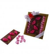 Liva Pembe Renk Dudaklı Tablet Drajeli Sevgililer Günü Çikolatası