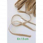 şerit Jüt İp Örme Kendir 1.5 Cm (5 Metre Uzunluk)