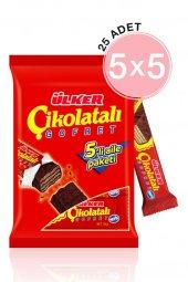 çikolatalı Gofret 36 Gr 5x5li Paket