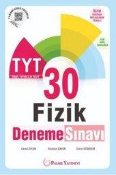Tyt Fizik 30 Deneme Sınavı Palme Kitabevi