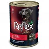 Reflex Plus Kuzulu Parça Etli Köpek Konservesi 400 Gr