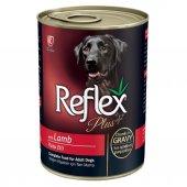 Reflex Plus Kuzulu Karaciğerli Köpek Konservesi 400 Gr