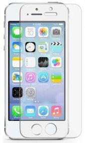 Iphone 8g Beyaz Kırılmaz Cam Ekran Koruyucu 5d