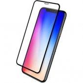 Iphone 7g Siyah Kırılmaz Cam Ekran Koruyucu 9d