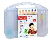 Lets Prime 36lı Jumbo Boya Kalemi Plastik Kutu