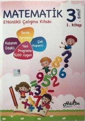 Hakim Yayınları 3. Sınıf Matematik Etkinlikli Çalışma Kitabı 1. Kitap