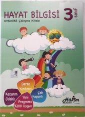 Hakim Yayınları 3.sınıf Hayat Bilgisi Etkinlikli Çalışma Kitabı