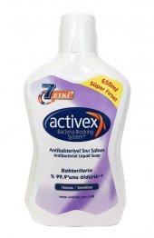 Actıvex Sıvı Sabun 650 Ml Antibakteriyel Sıvı Sabun