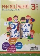 Hakim Yayınları 3. Sınıf Fen Bilimleri Etkinlikli Çalışma Kitabı