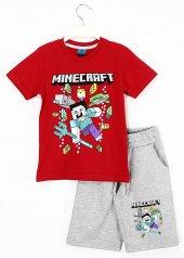 Minecraft Baskılı Kapri Tişört Erkek Çocuk...