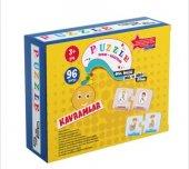 Puzzle Kavramlar Okul Öncesi Akıl Ve Zeka Oyunu 3 Y