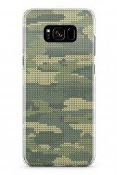 Samsung Galaxy S8 Kılıf Kamuflaj Serisi Isabella