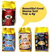 Beautiful Food Kuş Maması Kuş Yem Seti 4 Kg.