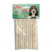 Mio Köpekler İçin Ödül Burgu Çiğneme Çubuğu 10 Lu