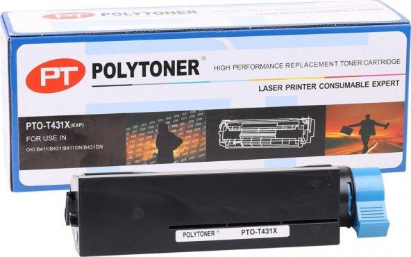 Oki B431X Polytoner (B431-MB461-MB471-MB471W-MB49141DN)(44574901)