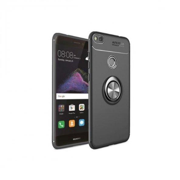 Huawei P9 Lite 2017 Ravel Yüzüklü Silikon Kılıf