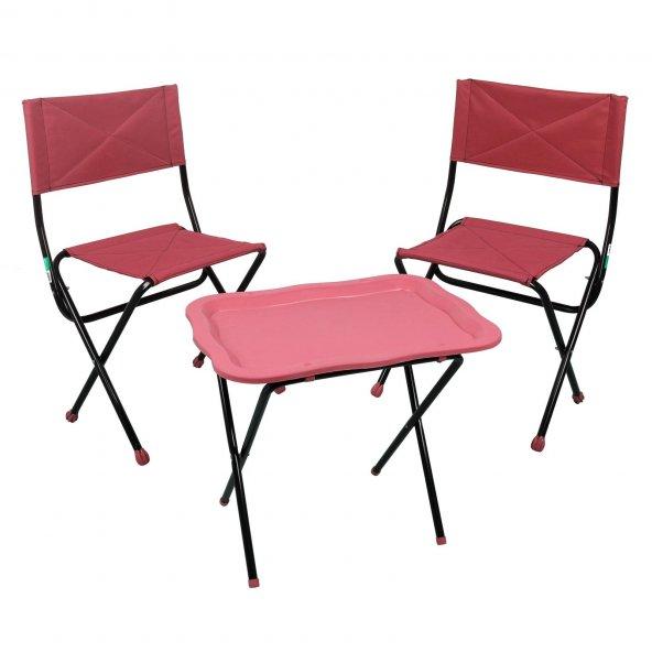 Prado Katlanır Çantalı Kamp Piknik Balıkçı Masa Sandalye Seti