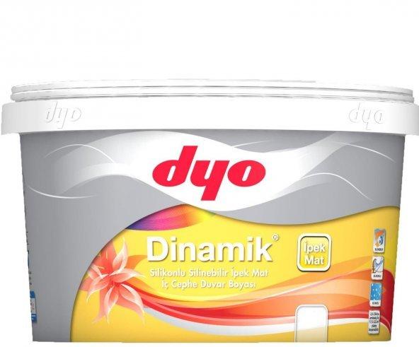 Dyo Dinamik Silikonlu İpek Mat İç Cephe Boyası 7.5 lt ( TÜM RENKLER )