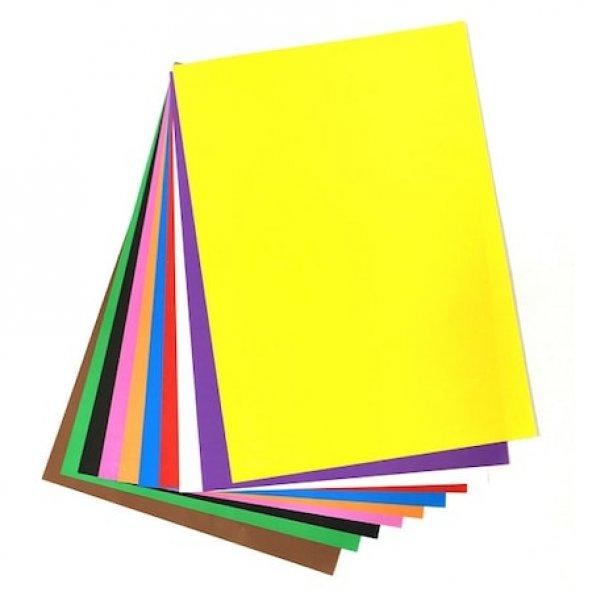10lu Elişi Kağıdı 10 Renk  3paket