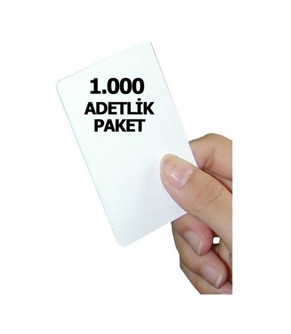 1.Sınıf Proximity Kart (Seri numara baskılı ) 1.000 adet