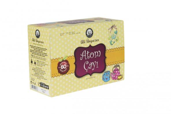 Ali Ünyazıcı Atom Çayı 60 lı Şekersiz - Süzen Poşet