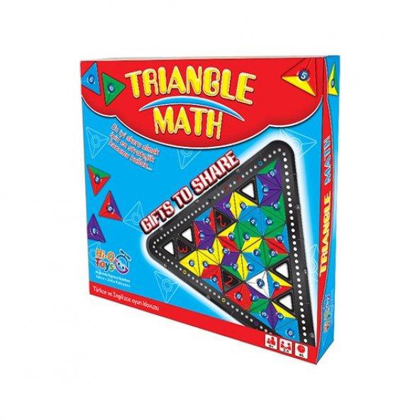 Hi-Q Toys Triangle Math (Üçgen Matematik) - Zeka Oyunu