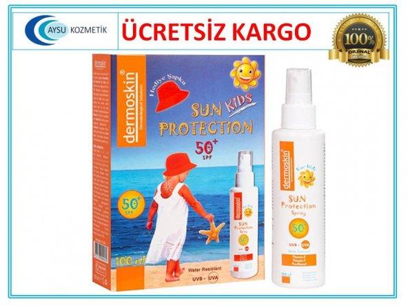 Dermoskin Sun Kids Spf 50 Şapka Hediyeli Paket - Güneş Kremi