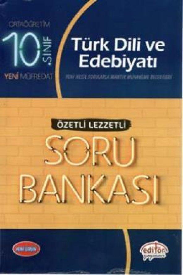10.Sınıf Türk Dili Soru Bankası Özetli Lezzetli