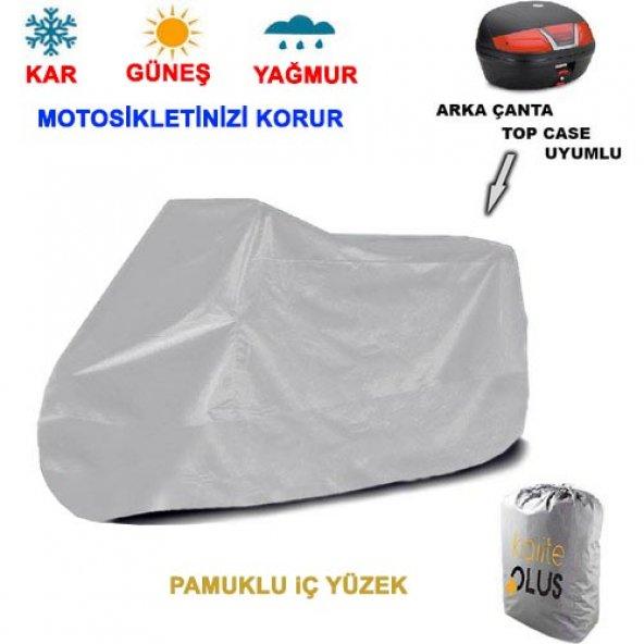 Regal Raptor Dd 250E 9  Arka Çanta Uyumlu Motosiklet Örtü Branda KalitePlus