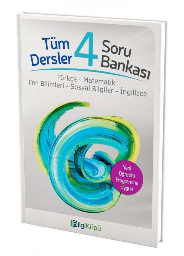 4.Sınıf Tüm Dersler Soru Bankası Bilgi Küpü Yayınları