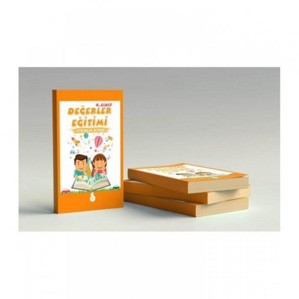 Robinson Çocuk 4.Sınıf Değerler Eğitimi Etkinlik Kitabı