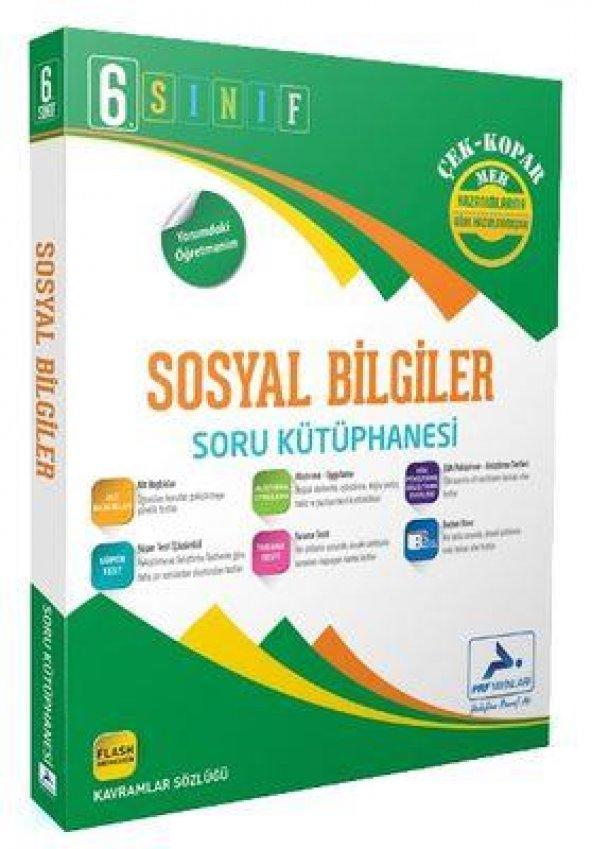 6. Sınıf Sosyal Bilgiler Soru Kütüphanesi PRF Paraf Yayınları