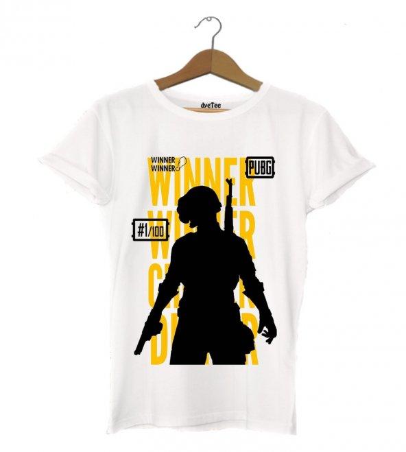 PUBG Efsane Kadın Tişört - Dyetee
