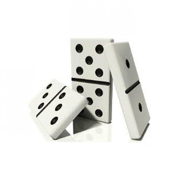 Çantalı Seramik Kemik Domino Oyunu Seti