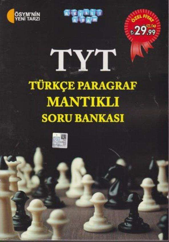 Akıllı Adam TYT Türkçe Paragraf Mantıklı Soru Bankası YENİ