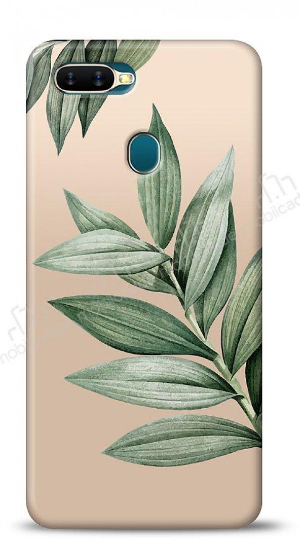 Oppo AX7 / Oppo A5s Leaf Kılıf