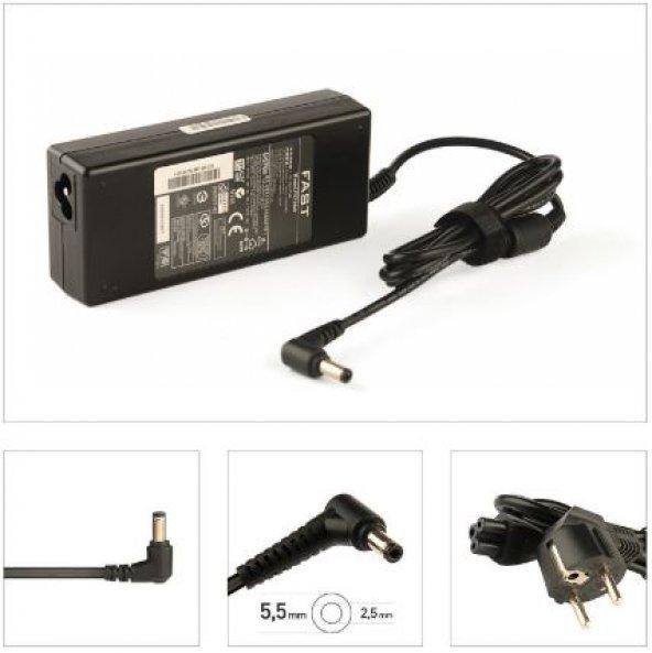 Grundig 19V 4.74A 5.5*2.5mm Fast Şarj Adaptörü